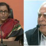 PNB स्कैम : कपिल सिब्बल ने कहा, चौकीदार सोता रहा, चोर भाग गया, रक्षामंत्री ने बताया 'कांग्रेस का पाप'